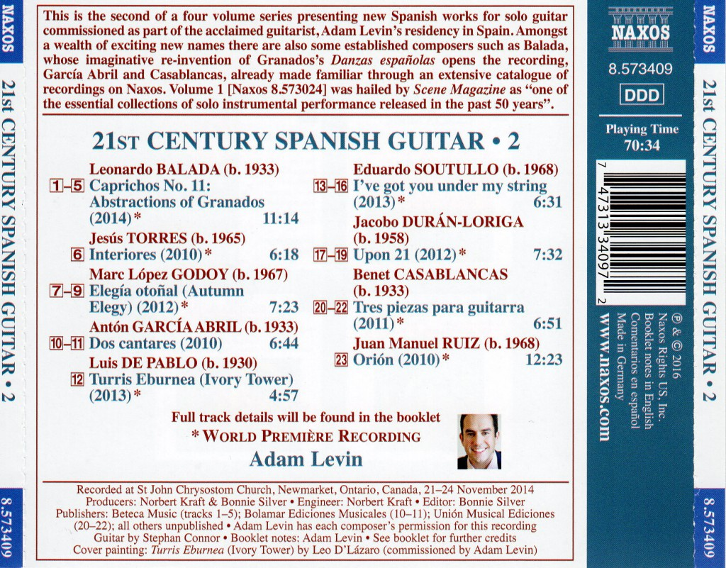21st Century back cover